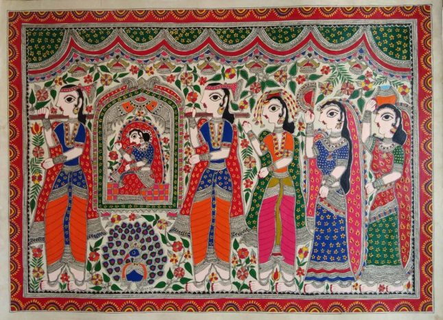 https://indigalleria.com/blog/original-madhubani-painting/